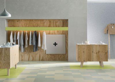 Bodenstudio Linoleum-Boden