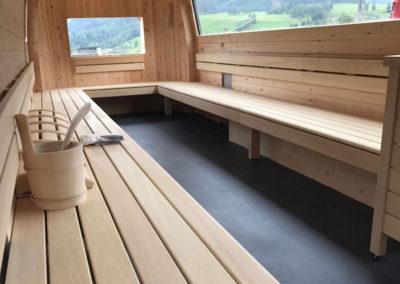 Bodenbelag für Sauna - Bodenstudio