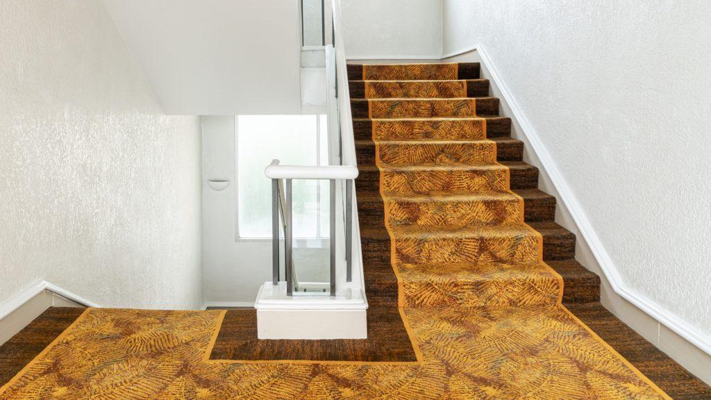 betontreppen verkleiden mit Teppich