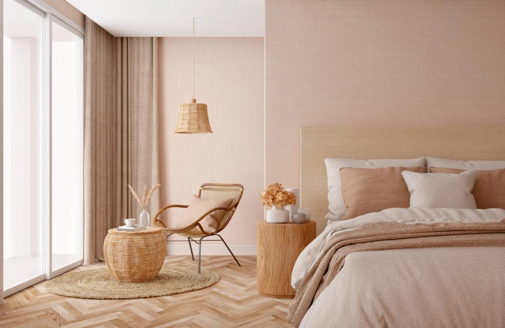 Farben im Schlafzimmer haben großen einfluss auf das Wohlfühlklima.