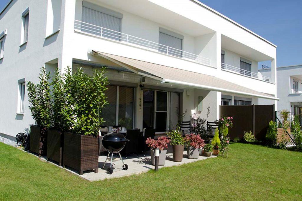 Markisen sind der perfekte Sonnenschutz für deine Terrasse